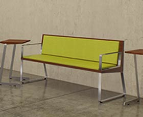 Contract Furnishings Offers These New Arrow Benches From Peter Pepper  Products