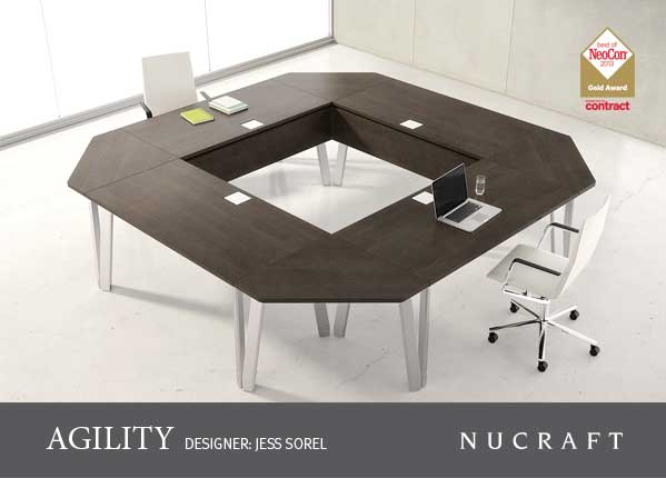 Agility by nucraft much more than modular furniture for Used modular furniture