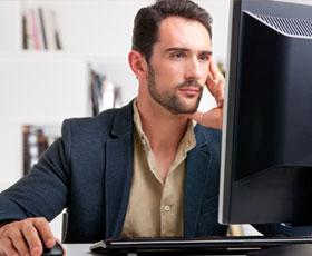 Avoid computer eyestrain photo